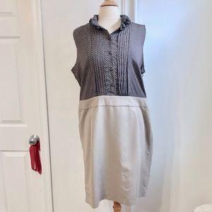 NEW Ann Taylor Loft Polka Dot Plus Size 18 Dress